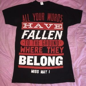 Tops - Miss May I t-shirt